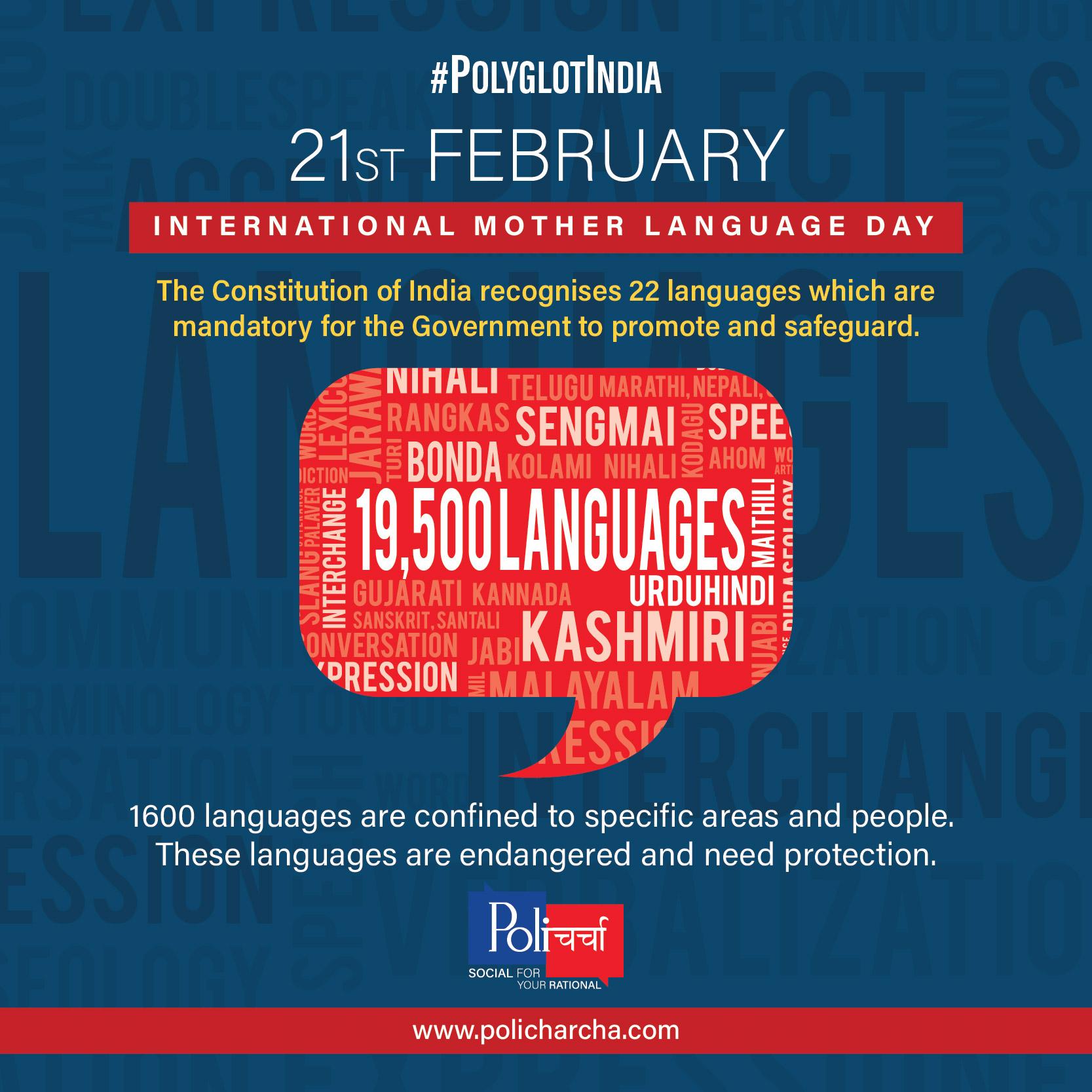 #PolyglotIndia - The linguistic diversity of India
