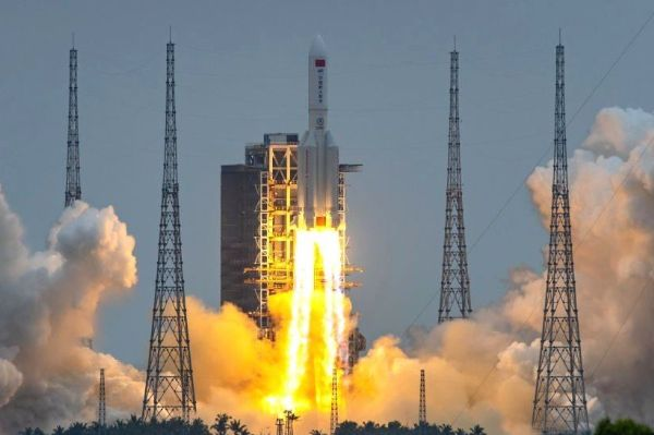 China's out-of-control rocket expected to crash-land tomorrow